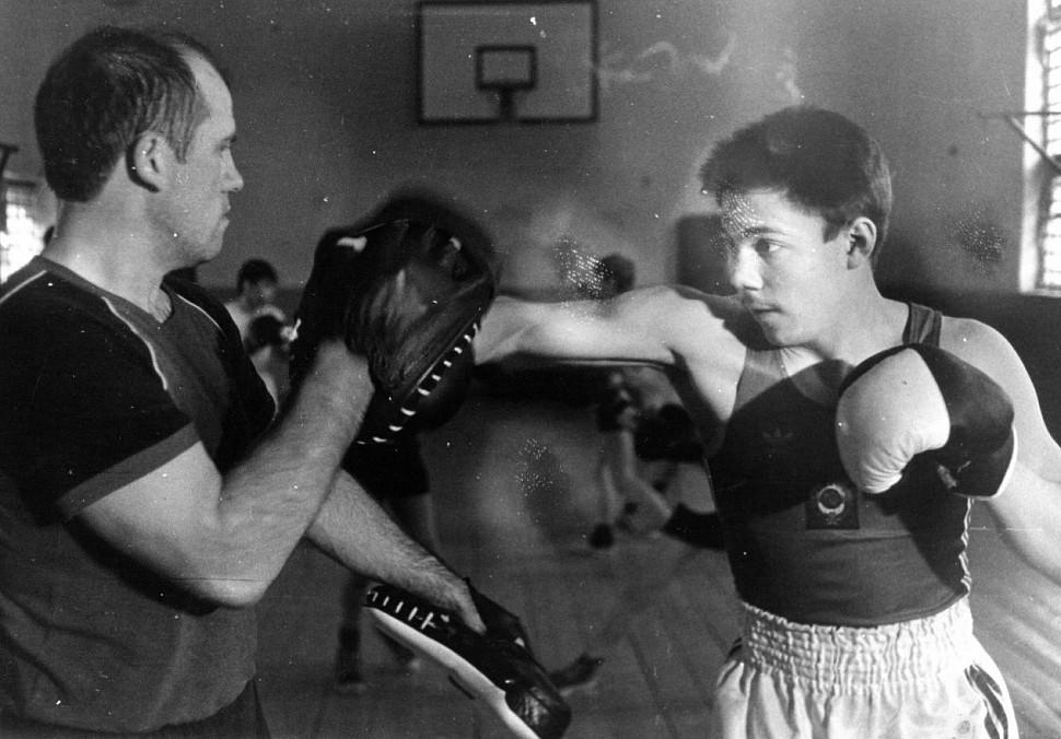 Как занимались боксом в Советском Союзе