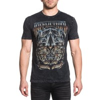 Футболка Affliction A Frame Chrome afl0114