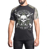 Футболка Affliction Ace Lightning afl0059