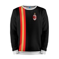 Мужской свитшот 3D «AC Milan / Line Collection» white