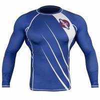 Рашгард Hayabusa Recast Rashguard Long Sleeve - Blue/White