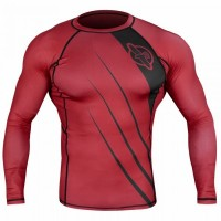 Рашгард Hayabusa Recast Rashguard Long Sleeve - Red/Black