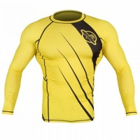 Рашгард Hayabusa Recast Rashguard Long Sleeve - Yellow/Black